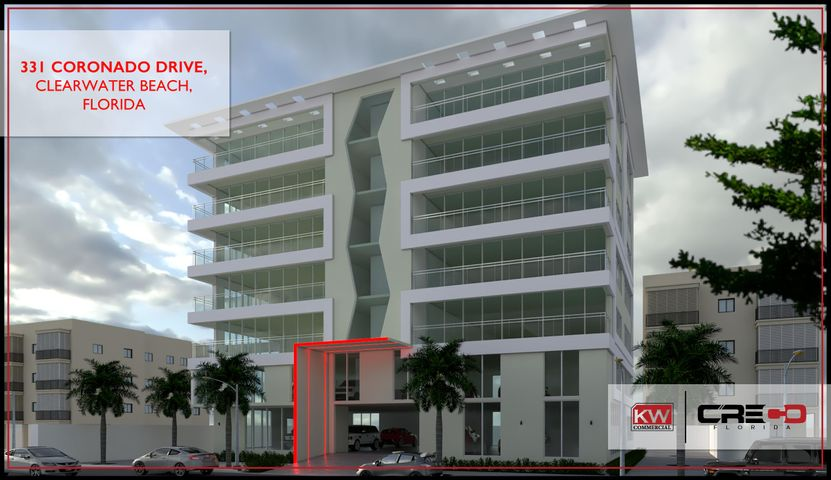KW Commercial is pleased to offer for sale 331 Coronado Drive, a rare opportunity to acquire a prime development parcel perfectly positioned in world-renowned Clearwater Beach, Florida. Existing revenues generated by short-term vacation rentals provide investors with a unique opportunity to purchase a property with positive cash flow while leveraging current zoning to develop a high-density hospitality or residential mid-rise building.  The Property offers an excellent market presence located less than 1,000 feet from pristine beaches and walking distance to the area's newest development area. Situated less than one block from the new 259-room Marriott and across from the Hyatt Regency. This opportunity offers ample returns to a savvy investor with a proven hedge against negative cash flow