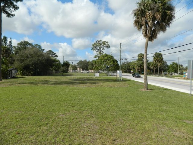 Great opportunity to purchase 3 Salerno Road facing lots in the section of the community redevelopment near the growing downtown Port Salerno.  One side completely fenced with access gates on either side.The lots are zoned Mixed Use Limited Commercial.  Owner will NOT split the lots.  Sale includes parcels 51-38-41-001-033-00010-551-38-41-001-033-00090-851-38-41-001-033-00100-6