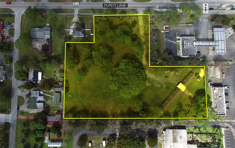 PRIME MULTI-USE PARCEL IN PALM BEACH COUNTY'S URBAN REDEVELOPMENT AREA!This 2.95-acre parcel is located at the SW corner of Purdy Lane and Military Trail, surrounded by modest demographics and great frontage/visibility. Its flexible zoning allows for many permitted uses including educational facility, owner/user building, and multi-family development (proposed plan available). 4600 Purdy Lane is located near many retail conveniences and is close to public transportation, schools, and places of worship. The property's central location in suburban West Palm Beach warrants a strong multi-housing demand.