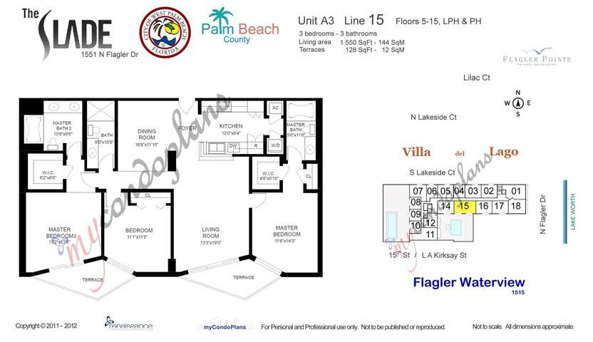 1551 N Flagler Drive 1415