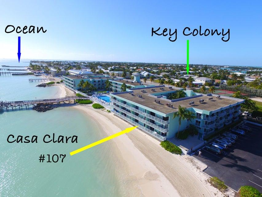 201 Ocean Drive E 1-107, Key Colony, FL 33051
