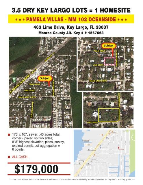 463 Vacant Alley, Key Largo, FL 33037