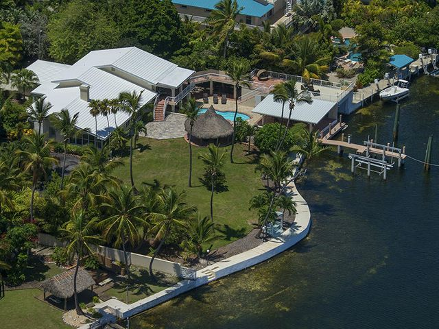 Situated on 3/4 acre on a peaceful street in Islamorada!