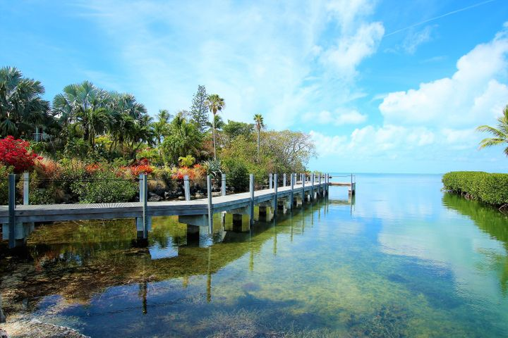 2.75 Acre Direct Bay Front Property with Two Homes