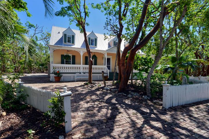 Key West Island style with generous front porch
