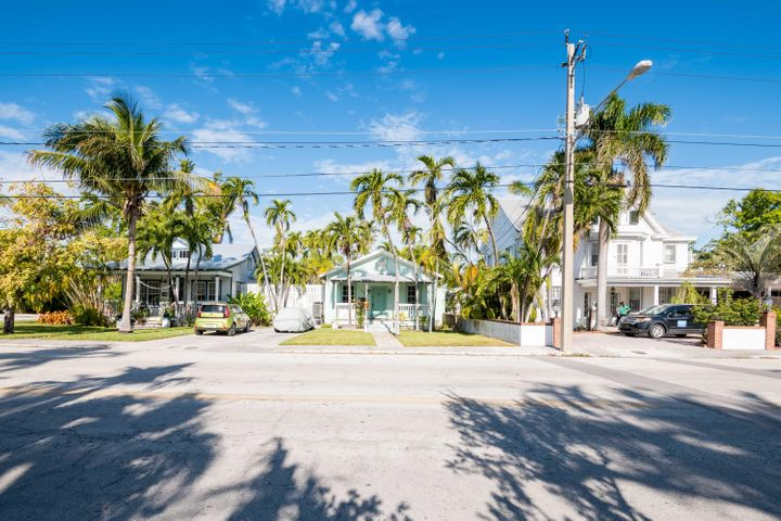 Three homes on 18,000 sq. ft in Casa Marina area of Key West.