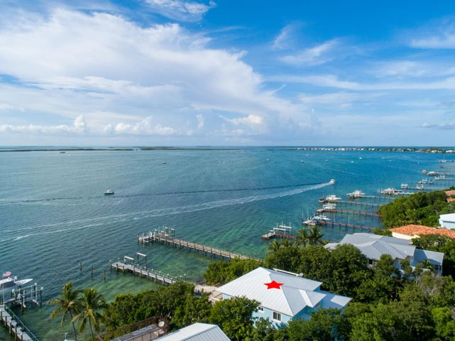 In a private gated community on the bay in Key Largo.