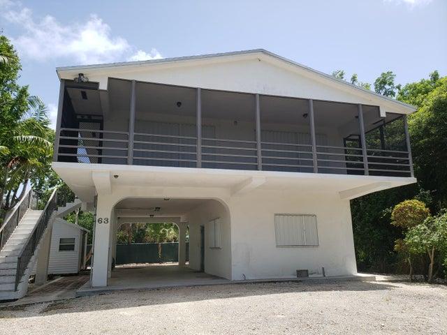 63 Bass Avenue, Key Largo, FL 33037
