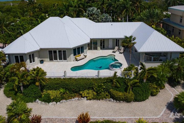 Home Aerial View Ocean Side