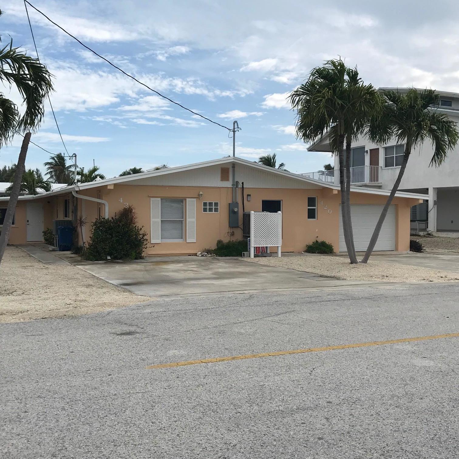 420 & 430 9Th Street, KEY COLONY, FL 33051