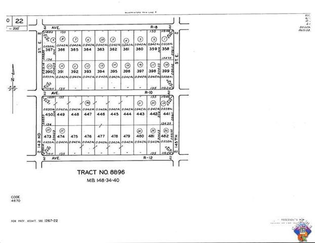 0 Vac/cor Ave R12/145ste Street, Littlerock, CA 93543