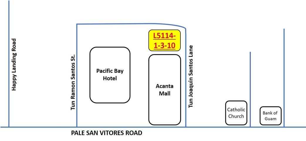 Tun Joaquin Santos Lane, Tumon, GU 96913