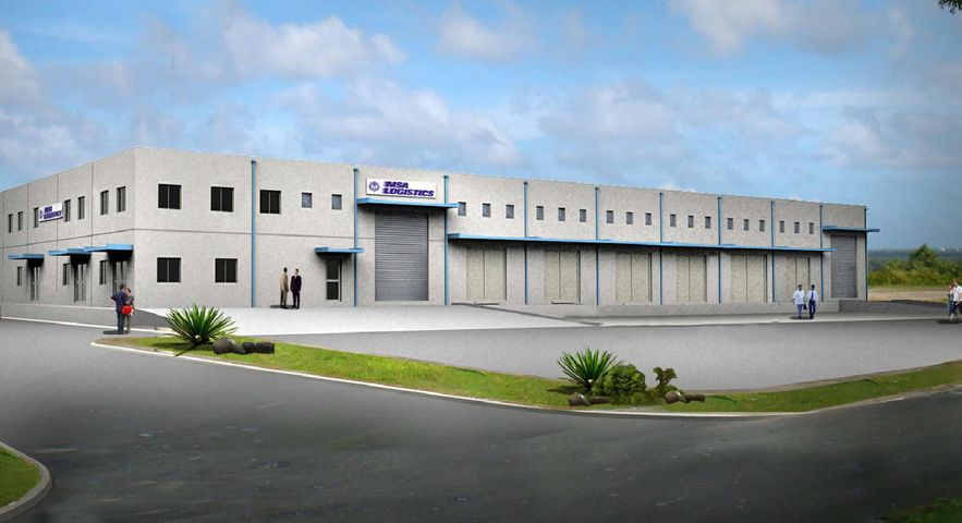 MSA WAREHOUSE ARCHITECTURAL RENDERING