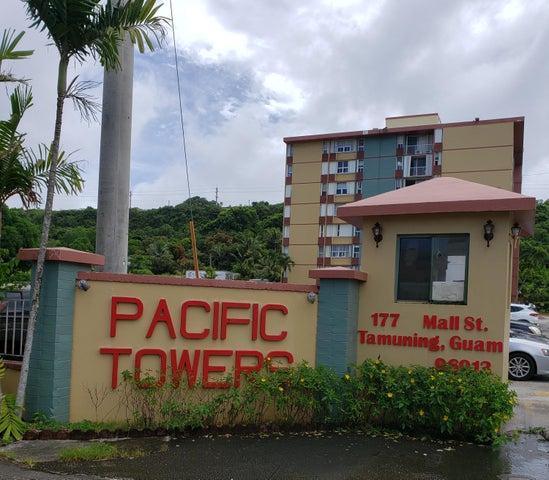 Pacific Towers Condo-Tamuning C505 177 Mall Street C505, Tamuning, Guam 96913