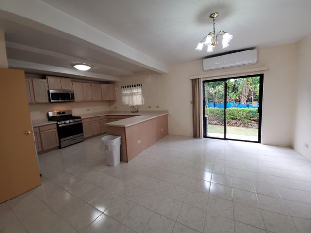 With a spacious Dining area.