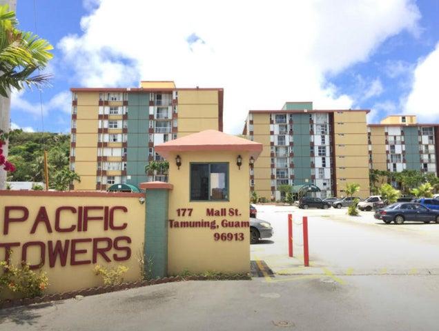 Pacific Towers Condo-Tamuning 117 Mall Street C101, Tamuning, Guam 96913