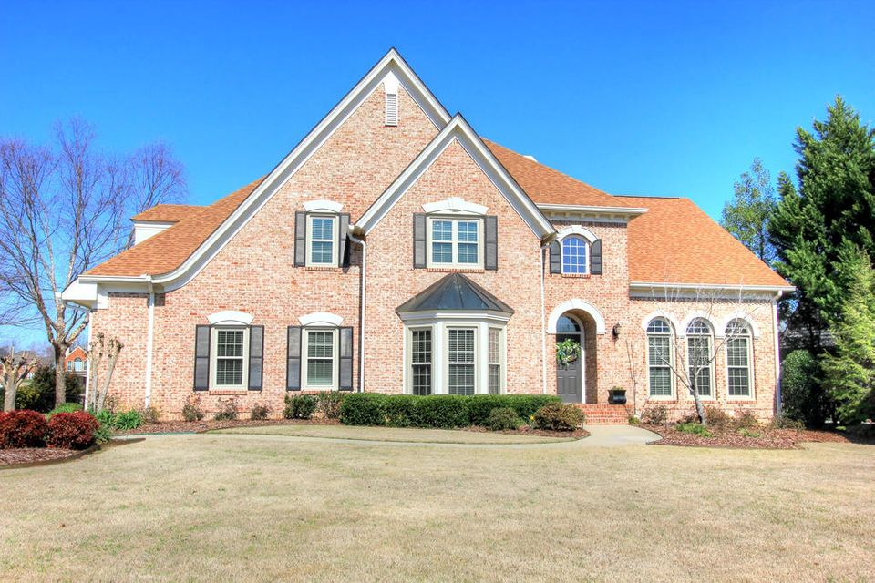 Image Of Beautiful Luxury Brick Home In Council Fire, East Brainerd,  Chattanooga, TN
