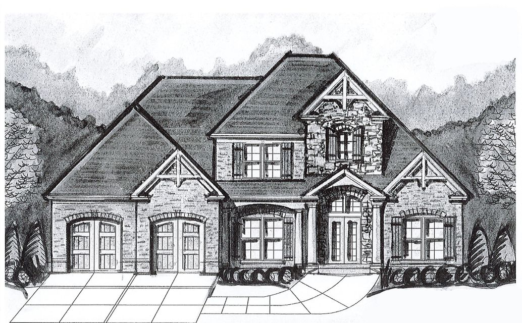 New construction in The Canyons. This 5 bedroom, 4 bath home is currently under construction, and will be similar to rendering shown. It will also have 2,315 +/- unfinished square feet in the basement. The Canyons at Falling Water offers a community pool, playground, scenic views, sidewalks and is conveniently located to Downtown Chattanooga, shopping, the lake and outdoor recreation, hospital, restaurants, and so much more! If you are searching for a home for sale in Hixson, then be sure to schedule your tour of this home today! Buyer is responsible to do their due diligence to verify that all information is correct, accurate and for obtaining any and all restrictions for the property.