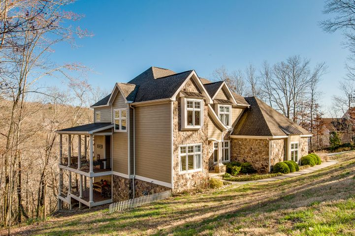 Welcome to a one-of-a-kind custom-built home atop Signal Mountain!