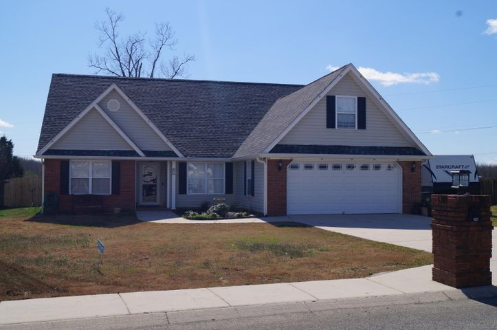 This is your next home! Nice flat yard and one level!!! YAY!!! Nice curb appeal!!