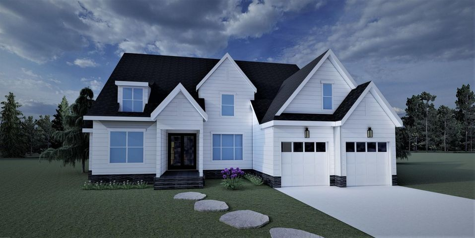 Front Elevation for 12118 Mare Court. The home will look similar to the picture shown and is subject to change.