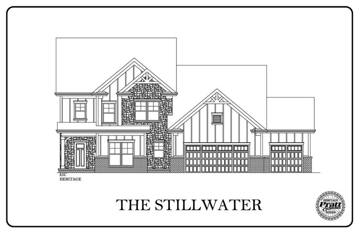 The Stillwater- With 3 car Garage, this home offers a large kitchen with a breakfast nook as the hub of daily activity. A Butler's pantry leads to the formal dining room - perfect for entertaining guests or family special occasions. The Great Room with a fireplace is a welcoming spot at the end of a hectic day. Between the kitchen and garage, with access to both, are a drop zone for unloading groceries, storing kids backpacks or briefcases. The Master Suite with his and her sinks  and a large walk-in closet is an oasis of luxury.Upstairs are three additional bedrooms, two with their own walk-in closets! A full bath and a large game room.Seller is an Owner Agent