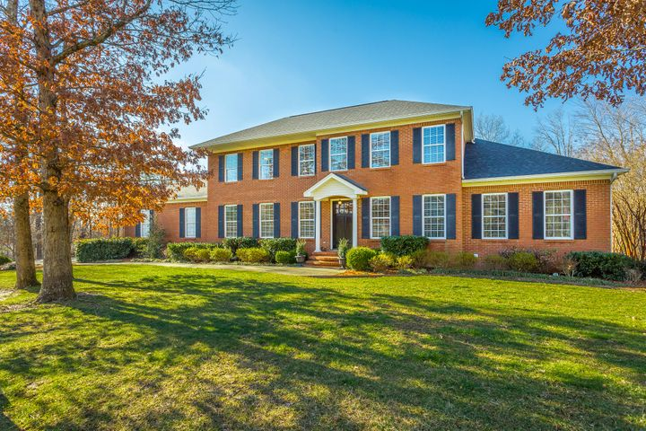 "Come view one of the more interesting and well designed homes on the market on Signal Mountain! Upon entering this stately all brick home, you'll find hardwood floors with a Study/Parlor to your right, and a beautiful  arched doorway  ahead. Experience the ''wow'' factor when you enter the open concept living space which showcases notable features such as a soaring cathedral ceiling rising above the huge granite island with seating for 5! This space includes kitchen, dining area, corner work station, and comfy cozy seating in front of a gas log see-through fireplace, which adjoins the spacious dining room. The master bedroom is located on the main level, as is a cozy and very convenient guest bedroom.  The screened porch on the main level is the perfect size to enjoy with  friends and family. Upstairs you'll find three bedrooms and a large, well appointed laundry room, which offers granite countertops and plenty of cabinetry and shelving. You'll not believe what the lower level of this home offers. (Some would call it a basement, but the word doesn't do it justice!) This walk-out space is designed with ""main level"" finishes, and is one of the best lower level floor plans you will find. It is so spacious, and it works perfectly as guest quarters or teen hangout with its game room, beautiful bath, and two bedrooms. In addition, its ample kitchen is equipped with granite countertops, beautiful cabinetry, and plumbing for standard size kitchen appliances. Also this area is plumbed for stackable washer and dryer. As a bonus, the stone fireplace with gas logs provides a beautiful focal point for the den area and game room. Lastly, there is a workshop accessible by a garage door and has plenty of storage! There is no shortage of parking for friends and family with the large, oversized driveway and the three car garage. Make your appointment to see this wonderful home soon. You'll not be disappointed! Tankless water heater was installed in the summer of 2018, Second level hvac was replaced in 2016, and the first level hvac was replaced in 2017. First and second level hvacs are gas heat and the basement level is a heat pump."