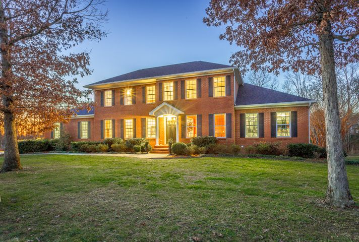"Fantastic price adjustment! Beautiful fresh paint awaits you in this awesome Signal Mtn home!  Looking for the PERFECT In Law Suite??  You can stop looking...Because this is it!! Come view one of the more interesting and well designed homes on the market on Signal Mountain! Upon entering this stately all brick home, you'll find hardwood floors with a formal dining room to your right, and a beautiful  arched doorway  ahead. Experience the ''wow'' factor when you enter the open concept living space which showcases notable features such as a soaring cathedral ceiling rising above the huge granite island with seating for 5! This space includes kitchen, dining area, corner work station, and comfy cozy seating in front of a gas log see-through fireplace, which adjoins the spacious dining room. The master bedroom is located on the main level, as is a cozy and very convenient guest bedroom.  The screened porch on the main level is the perfect size to enjoy with  friends and family. Upstairs you'll find three bedrooms and a large, well appointed laundry room, which offers granite countertops and plenty of cabinetry and shelving. You'll not believe what the lower level of this home offers. It is the perfect in-law suite! (Some would call it a basement, but the word doesn't do it justice!) This walk-out space is designed with ""main level"" finishes, and is one of the best lower level floor plans you will find. It is so spacious, and it works perfectly as guest quarters or teen hangout with its game room, beautiful bath, and two bedrooms. In addition, its ample kitchen is equipped with granite countertops, beautiful cabinetry, and plumbing for standard size kitchen appliances. Also this area is plumbed for stackable washer and dryer. As a bonus, the stone fireplace with gas logs provides a beautiful focal point for the den area and game room. Lastly, there is a workshop accessible by a garage door and has plenty of storage! There is no shortage of parking for friends and family with the large, oversized driveway and the three car garage. Make your appointment to see this wonderful home soon. You'll not be disappointed! Tankless water heater was installed in the summer of 2018, Second level hvac was replaced in 2016, and the first level hvac was replaced in 2017. First and second level hvacs are gas heat and the basement level is a heat pump. This property is under contract with a 24 hour first right of refusal in place."