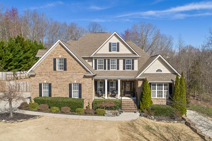 Come see this captivating home with an enormous kitchen and a newly installed 16x32 salt-water pool that you will fall in love as soon as you walk in the door. The gorgeous oak hardwood floors stretch from the spacious two-story living room into the large eat-in kitchen with stainless steel appliances, granite countertops, and a large island that gives you plenty of space for all of your food prep needs. The hardwood floors continue into the enormous master suite with a sitting area, his and hers sinks and closets, a jacuzzi tub, and a large walk-in tiled shower. You will also find an additional bedroom and full bathroom on the main floor. Once you make your way up the staircase you will find three additional bedrooms, one of which would be perfect as a bonus room or gym, and an additional full bathroom. Upon entering the lower level you will find a spacious unfinished basement. Whether you need a mother-in-law suite, more space for the family, or a great entertaining space, the lower level leaves plenty of room to do whatever you may need. The lower level also includes a separate driveway and a 1-car garage. The home sits on a 1-acre lot with a fully fenced in landscaped backyard. You can enjoy the privacy and peacefulness of the wooded area behind the home while relaxing on your main-level screened in porch or while soaking up some sun in the saltwater pool that was just installed in 2018. This home is sure to meet all of your needs and wants. So what are you waiting on? Call today and set up an appointment to see this spectacular home!