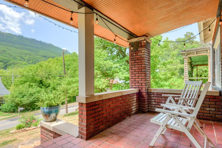 Fully renovated, fully furnished, heirloom historic bungalow. Enjoy gorgeous views of Lookout Mountain while having coffee on the large front porch. The stunning kitchen features all stainless steel appliances and butcher block counter tops. It has an open floor plan and decorative fireplace perfect for entertaining.  For home buyers and investors alike, this is a no brainer. It has also been an incredibly successful AirBnB. Located in the walk-able sector of St. Elmo; easily accessible to a variety of amenities and restaurants.