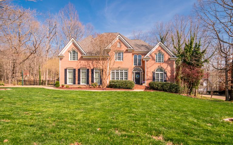 Open House 4/14/19, 1pm-4pm. This is a rare opportunity to own a home in the desirable Fox Run Subdivision.  This beautiful 4  bedroom (possible 5th bedroom), 4 bath home is just minutes to the award winning Signal Mountain schools and 25 minutes to Downtown Chattanooga.  No detail is overlooked and no upgraded finish omitted. Step inside to the grand 2 story foyer that will welcome your guests.  There are beautiful hardwood floors, crown molding, plantation shutters, 3 fireplaces and many more features and updates throughout this home. The formal dining room is perfect for those special meals and entertaining.  The office/study is just off the foyer.  The great room with fireplace and custom built-in cabinets is spacious.  New dimensional shingle roof installed in 2018. The living area has a cozy fireplace and plenty of windows that brings in plenty of natural light and is open to the kitchen which is perfect for family living and entertaining.  The beautiful custom kitchen is a cook's dream with granite counter tops, top of the line stainless appliances that includes a gas cook top, and double ovens, island/breakfast bar and plenty of cabinet space.  The breakfast area has large windows for viewing the private back deck and pool area.  Back stairs are accessible off the breakfast area.  There is a guest bedroom, full bath and laundry room that completes the main level.  Step upstairs to the large master suite with fireplace, trey ceiling and 2 walk-in closets.  The spa-like master bath is a true retreat with separate vanities, jetted tub and separate tiled shower.  There are 3 additional good sized bedrooms and 2 full baths on the 2nd level.  The back deck is perfect for relaxing and grilling out.  Enjoy the warm months with the above ground pool and nice deck area.  There is plenty of storage space in the 2 car garage and there is a utility garage in the basement which you access from the back of the home.  This home has been meticulously maintained and is ready 