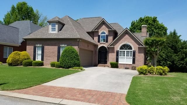 Welcome to 8010 Dancing Fern Trail, zoned for East Hamilton Middle and High Schools. This 3-bed, 2.5 bath home is nestled on the Tennessee side (no state income tax) of Council Fire, a pleasant and desirable family friendly golf course community. The master, with double walk-in closets, is on the main level facing the rear. Among the main level amenities are hardwood floors, built-ins, plantation shutters and a combination wine closet/wet bar. Secondary bedrooms, a spacious landing, and a bonus room are upstairs. A vaulted ceiling and ample windows provide plenty of ambient light. The yard is level with a golf course view from the back and the house is two doors removed from the end of the cul-de-sac. The exterior is all brick. Front side faces southeast; back side faces northwest. HOA is $500 per quarter and covers lawn maintenance, per previous occupants. Please exercise caution on rear deck as the railing is missing. Sale terms subject to approval of Bankruptcy Court; please allow a minimum 21 day filing period after accepted offer. Buyer and/or buyer's agent to satisfactorily verify all pertinent MLS data. A copy of the HOA rules/restrictions is on file at the listing office. Call your agent and schedule a showing today!