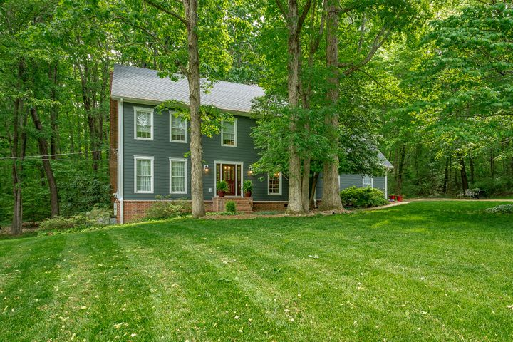 Welcome to 3008 Hobblebush Ln nestled in the great neighborhood of Fox Run atop Signal Mountain. Sitting on an oversized approx. 1.2 acre lot & conveniently located on a private cul-de-sac street near the entrance. From the moment you pull in the driveway, you will see the pride of ownership, with complete new Hardie exterior siding & new gutters, providing unparalleled appearance, efficiency, & low maintenance. This Cape Cod style home offers 4 bedrooms and 2.5 baths with a sitting room & separate dining room as you enter the home, all with hardwood flooring, leading into the beautiful & spacious living room with large amount of windows for natural light & a wood burning fireplace. Spacious eat-in kitchen with ample cabinetry, pantry & ''Butler's area''/work space. The 2 car garage and laundry room, round out the main level. On the second level you will find the spacious master en suite with a nice bedroom space and master bath with his/her sinks, jacuzzi tub, separate shower and walk-in closet.  Additional three nice size bedrooms and a large finished bonus room with a separate stairway that leads back down to the kitchen, round out the second level. The exterior has a new oversized deck perfect for entertaining & grilling and sits on a large level front yard and an expansive wooded back yard.  The expensive renovation work has been completed with all new James Hardie siding & new gutters & guards (both completed by Chattanooga Exteriors), new deck and newer HVAC's. This home is perfect for a growing family and is waiting for someone to come make it their own. Make an appointment today!
