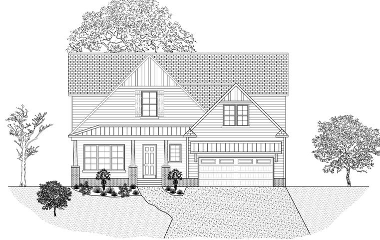 New Construction by Building Masters. Beautiful open floor plan, and lots of extras!