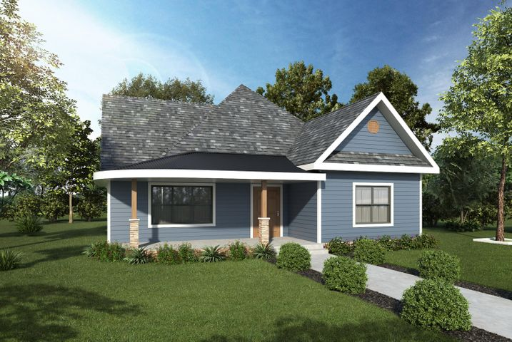 Brand new construction in St. Elmo! This address is one of four consecutive lots that are being developed with multiple floor plans to choose from. This plan features a wide open main living area with hardwood floors and fireplace, large kitchen with island, granite counter tops and upgraded finishes and appliances, and a half bath. There is a large master suite with double vanity, large shower and walk-in closet. Two more bedrooms share a jack-and-jill bathroom. With a wealth of experience building in St. Elmo, let Hemlock Homes build your custom home on these lots, or choose one of their plans and make cosmetic choices along the way.