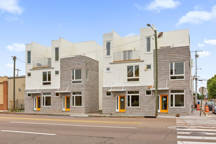 Brand new modern living near the heart of the Southside. Lower level features living and kitchen area. Up the stairs to the second level, you'll find a large bedroom, bathroom, closet w/ laundry. The third level features a flex space that can be used for an office, entertaining, or a second sleeping area. This flex space leads out to a large outdoor terrace. The perfect outdoor oasis. Onsite parking with 1 reserved spot. Perfect home for urban dwelling professionals or investors. Airbnb/VBRO is an option with the proper permits from the city. Anticipated completion in late June 2019. Owner/Agent.