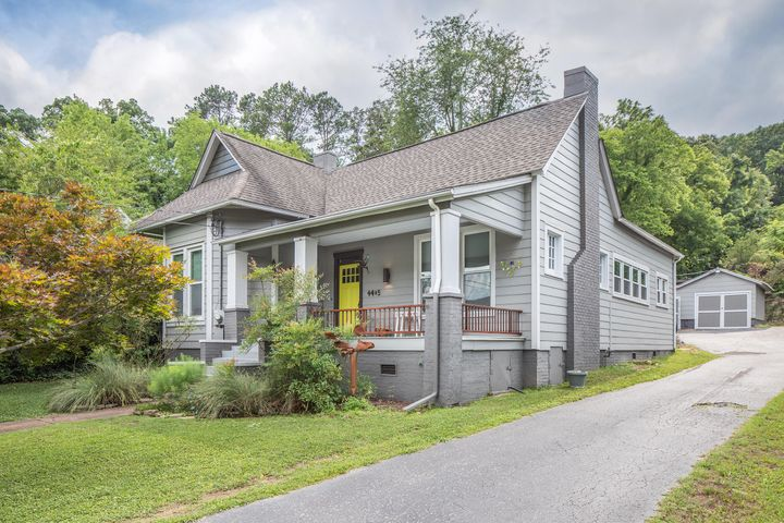 Have you ever said to yourself, ''Wouldn't it be amazing if I could live just steps from some the best of Chattanooga's amenities?''Or perhaps you have thought, '' I would love to live right next to arts and entertainment, parks, amazing dining, outdoor festivities, and more..''This beautifully renovated home is truly unique! Upon entering, you will instantly take note of the tall 12 ft ceilings, original hardwood floors, new windows throughout, and an open concept into the modern kitchen with island adding ample space when hosting friends and family. Multiple brick fireplaces throughout the home boast the character and charm you expect in this historic community.  Step out the back door and into one of the best yards in St. Elmo. No stone was left unturned when the sellers transformed this property into your own private oasis. From the flowing artwork included throughout the landscaping to the tiered and terraced landings for children to run and play or for you to relax and enjoy a cup of Joe on a Sunday morning. Did I mention the tiny house that mounds of natural light flows in which is perfect for an art studio and office, a playhouse for your children to express their imagination, or bar area when entertaining guests.   Don't let the opportunity to own the lifestyle and home you have been dreaming of pass you by, schedule your showing today!