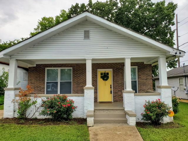 OPEN HOUSE 7.14.19  2:00-4:00 p.m.  Welcome Home!!!  Adorable 2 bed, 2 full bath home in Downtown Chattanooga in the highly sought after Highland Park/Orchard Knob area.  Completely NEW roof, floors, updated electrical, new windows, hot water heater, HVAC & more... all ready for you to enjoy & call home.  Master bedroom has large His & Her walk-in closets & a walk-in tile shower for you to enjoy in your spa bathroom.  Home also has a new fenced in back yard for kids & pets to enjoy in the back and large rocking chair front porch in the front! Don't wait to long and call this home YOURS in 2019 !!!