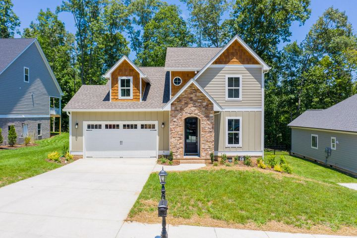 Beautiful new HGH build in Greystone Pointe! This one is a must see with 4 bedrooms + Office and of course a master on the main. Hardwoods throughout, chef's kitchen and stunning master suite. Enjoy cool nights on the large, covered back porch right off the kitchen and living area. Call TODAY for info and a private showing. This home may qualify for special financing. SPECIAL FINANCING AVAILABLE! YOU COULD SAVE MONEY WITH THE ZERO PLUS LOAN, CONTACT AGENT FOR DETAILS.