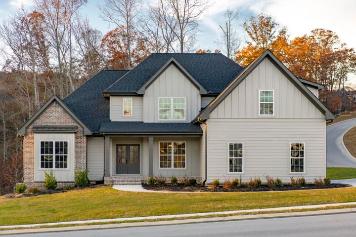 Builder incentives--- The Ridges of Crystal Brook is Apison newest subdivision located in the well-established Crystal Brook subdivision. Large lots sizes in this new subdivision. There are 70+ lots in the subdivision. The interior of Michael's homes are very inviting and feature hardwood floors in the living areas with carpet in the bedrooms and tile in the baths. Kitchens have beautiful custom cabinets, granite counter tops. Covered deck looks out onto back yard with wooded area for privacy. Pool is under way for the neighborhood.