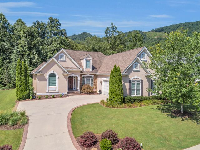 Welcome to this stately home located at 4047 Obar Dr. in the desirable Black Creek Mountain subdivision surrounded by the beautiful Tennessee Mountains. This home features main level living with a recently finished bonus room, bedroom, and full bathroom. The gorgeous kitchen with black granite countertops, tile backsplash, and maple cabinets is open to the great room which has 18' ceilings. The great room centers around the fireplace with gas logs and French doors which open to the screened-in porch, a great place for relaxing and entertaining guests. The large master bedroom has bay windows, tiered tray ceilings, separate closets, along with a master bath that includes, a jetted tub, tile shower, and separate vanities. More... Black Creek Mountain has so much to offer! The expanded clubho