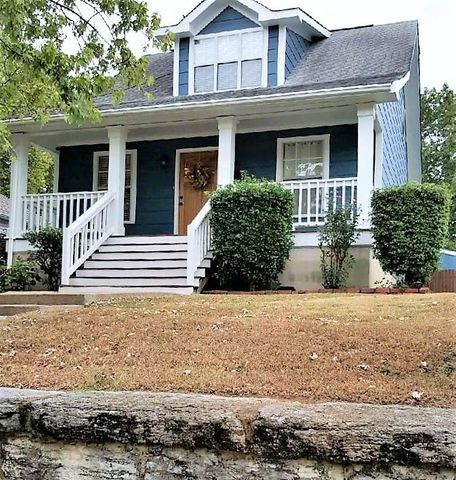 When the add says LOCATION, LOCATION, LOCATION. THIS IS WHAT THEY MEAN!Live just doors from all that is happening on Main St and The Southside!  3 bedrooms/2 full baths. Two Bedrooms on the main with hall bath and Master Bedroom upstairs with view of Lookout Mountain, walk-in closet, & full bath. Owner's have parking pad in back for 2 cars, off street parking. granite countertops and a new deck, great for entertaining.  All this for under $300,000. Home will be active as of Tuesday, July 28th, however some carpets will be cleaned that day and the showing will start on Wedesday July 28th.