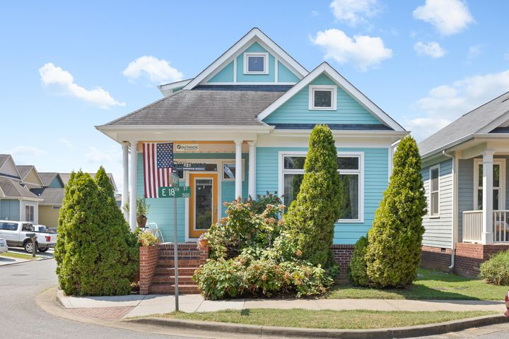 OPEN HOUSE Sunday, August 9th from 2:00 - 4:00. Located in the highly desired Southside, this Jefferson Heights home is just steps from the park! Enjoy front porch sitting, neighborly chatting, and a pleasant walk around this vibrant neighborhood. Charming curb appeal, fresh paint throughout, Quartz kitchen counters, brand new hvac unit (2018), and many more upgrades make this home as good as new! Main level living offers your living room, updated kitchen, dining area, laundry room, half bath, and master suite. Upstairs you'll find 2 additional bedrooms, a full bathroom, and a bonus room ~ the perfect home office or workout space! Most importantly, this home is an Earth Craft certified home with low power bills, hardie board siding, Marvin casement windows, is in a highly walkable location, and is such a charmer! Single car extended garage with loft storage allows for an uncluttered home and is the solution to your storage needs. Awaiting you here is a beautiful downtown neighborhood perfect for families or the outdoorsy ones, with a laid back lifestyle and the option to walk to all that Main Street offers. Love where you live, work, and play ~ make your appointment to tour 564 E. 18th St. today!