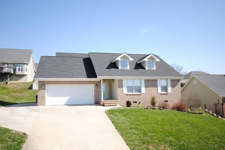 Tenant lease ends 9/30/2020.  Great brick front one level home in East Brainerd.  Vaulted ceilings, family room with fireplace.  White kitchen.  Pretty master suite with tub and separate shower. in the bath.  Extra parking beside the two car garage.  Large deck in back with beautiful landscaping.  Brand new HVAC and roof is 8-10 years old.  NO SIGN on property.  Do not disturb tenants.