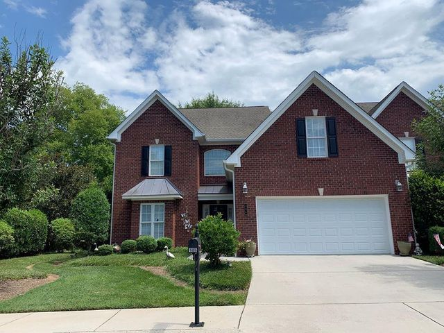 Lovely 3BR, 2.5 BA located in a serene gated community, in the heart of Cleveland just minutes from downtown shopping, Bradley Square Mall, restaurants, Lee University, and more! Main level offers great room with vaulted ceiling and gas fireplace, formal dining room, kitchen with all appliances to remain - including refrigerator! Kitchen also has breakfast area and kitchen bar seating, granite counters. Owner's suite on main level boasts trey ceiling, bath has laundry room with stackable washer/dryer to remain! Also, NEW shower, double vanity with cultured marble tops. Upstairs has 2 bedrooms, full bath (jack and Jill) bonus room and office/sewing room. Large back deck is Trecks flooring 26x12. Home warranty offered! *Furniture upstairs in bedroom and office, mirror in stairwell and kitchen bar stools can remain with home.