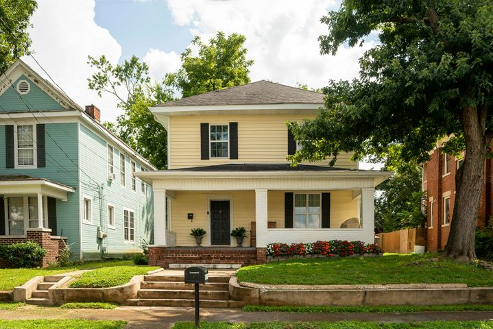 Historic remodeled home in the heart of Highland Park, one of Chattanooga's most desirable downtown neighborhoods. This 1920s American Foursquare features a private drive for off street parking and over 2600 sq ft of surprisingly open space, complete with four bedrooms and two and a half baths, highlighted by 9 ft ceilings, oversized windows, 2 fireplaces, and hardwood floors. Newly renovated updates include - front/side landscaping with irrigation, kitchen finishes and stainless steel appliances, bathrooms, refinished floors, interior paint, updated lighting, and a new HVAC unit. Enjoy the convenience of the master suite on the main level - perfected with an en suite tiled bath, large walk-in closet, and storage room. Upstairs, you will enjoy three additional bedrooms, a full bath and sunroom - ideal for an office, library, or family room. You will love the neighbors and the close access to all the great downtown dining and shopping. Founded in 1889, Highland Park is an historic district that is experiencing explosive growth and redevelopment. Revitalization and redevelopment efforts have transformed Highland Park into an eclectic community defined by tree-lined residential streets, lush green spaces, outdoor recreational parks and diverse local businesses. The home is located within an easy walk to new Montessori Elementary at Highland Park. This co-educational, public charter school is now under construction at the site of the former Highland Park Grammar School in the 700 block of South Hawthorne Street and is scheduled to open in the Fall 2021.
