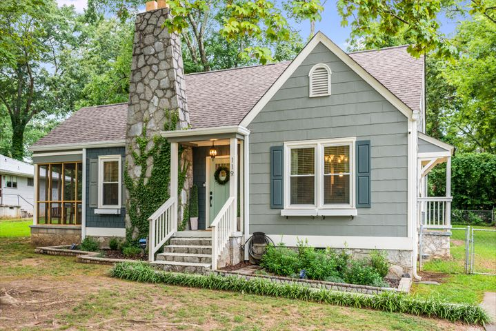 This beautiful bungalow was completely renovated in 2018. This house was taken to the studs and has all new windows, plumbing, electrical, roof, cabinets, appliances, and flooring. The current owners added an airy new screened in porch and fence for the massive back yard. You don't want to miss this well done home.