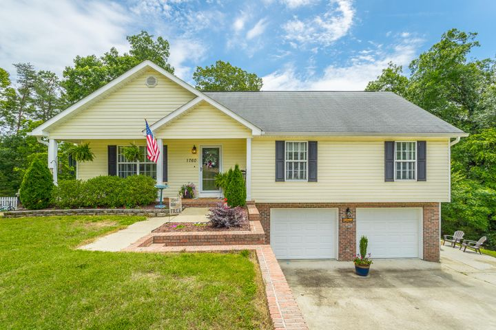 OPEN HOUSE ON SUNDAY, 9/20/2020 FROM 2-4 PM. Welcome home to this adorable, move-in ready home! Tucked away in a cul-de-sac street this home offers everything you've been looking for and more! The quaint front porch sets the tone for this home. When you walk inside you will fall in love with the newer flooring that flows throughout the main living area. The living room boasts vaulted ceilings and opens up to the spacious eat-in kitchen, making entertaining a breeze! The hall bathroom is newly remodeled with new flooring, paint, mirrors, and light fixtures! All of the bedrooms have fresh paint, new carpet, and are a great size! The master bedroom features an en suite with dual sinks and a tub/shower combo. The seller has enough flooring from the hall bath to do in the master bath and plans to leave for the new owner! The unfinished basement has endless potential to be the perfect bonus space! Storage isn't a problem either in the oversized two-car garage! Enjoy your morning coffee on the back deck that overlooks trees and privacy! This home truly is a gem and one that you don't want to miss! The buyer is responsible to do their due diligence to verify that all information is correct, accurate, and for obtaining any and all restrictions for the property. The number of bedrooms listed above complies with local appraisal standards only.