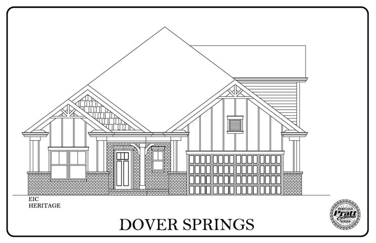 This Dover Springs is a great plan with 3 downstairs bedrooms, and a huge bonus room upstairs. This community has been so popular and is almost sold out. The home is loaded with included features, a gas fireplace, granite countertops, wood floors in the main living areas a separate Laundry and mud room and so much more.