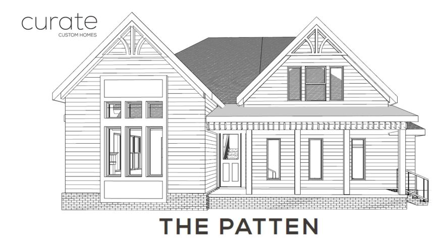 NEW CONSTRUCTION HOME DUE TO BEGIN CONSTRUCTION FALL 2020 WITH A SUMMER 2021 COMPLETION DATE. Mountain views without the drive! Welcome to Black Creek, an exclusive community w/custom homes and serene views just minutes from downtown. The Patten is a stunning two level custom home featuring MASTER and an OFFICE on the MAIN LEVEL. Her gourmet kitchen is highlighted by an oversized island, KitchenAid appliances, and a luxurious tile backsplash. Soaring Living Room ceilings are punctuated with WOOD BEAMS. Upstairs features two bedrooms, full bath, and BONUS/FLEX space. Her exterior features contemporary BLACK WINDOWS against white Board & Batten with cedar details and a SIDE LOAD GARAGE.